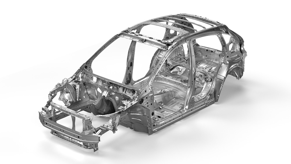 2020 Subaru XV Crosstrek Advanced Ring-shaped Reinforcement Frame