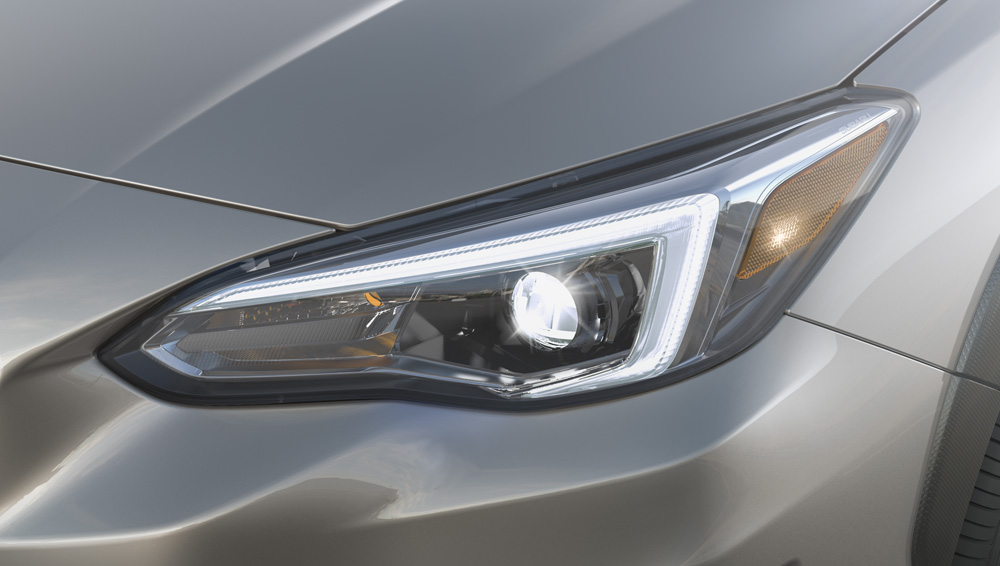 2020 Subaru Crosstrek Steering Responsive HeadLights