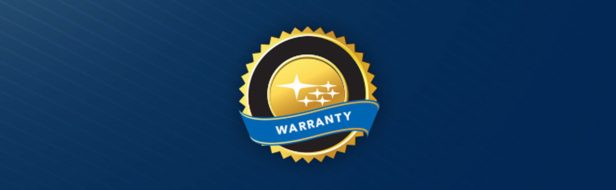 Subaru - a comprehensive warranty